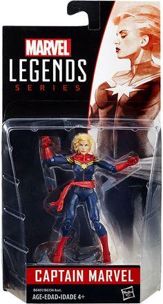 Marvel Legends  Series Series 1 - Captain Marvel Action Figure