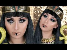 EGYPTIAN INSPIRED HALLOWEEN MAKEUP TUTORIAL | BEAUTYYBIRD - Lets Learn Makeup