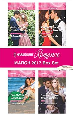 Buy Harlequin Romance March 2017 Box Set: An Anthology by Bella Bucannon, Jennifer Faye, Rebecca Winters, Sophie Pembroke and Read this Book on Kobo's Free Apps. Discover Kobo's Vast Collection of Ebooks and Audiobooks Today - Over 4 Million Titles! Lady Annabelle, Rebecca Winters, Lauren Taylor, Harlequin Romance, Wedding Of The Year, Sister Wedding, Romance Books, Falling In Love, Wedding Planner