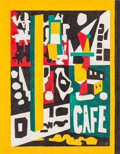 café by stuart davis