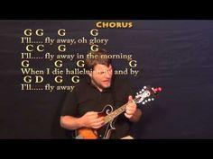 I'll Fly Away (Gospel) Mandolin Cover Lesson with Chords/Lyrics - YouTube