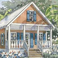 By The Water On Pinterest Beach Cottages Cottages And House Plans