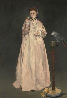 Genç Bayan, 1886, The Metropolitan Museum of Art, New York, ABD.