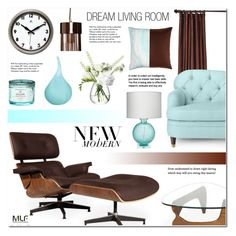 """""""Modern Luxury Furniture (MLF) - 3"""" by anyasdesigns ❤ liked on Polyvore featuring interior, interiors, interior design, home, home decor, interior decorating, Kate Spade, Jamie Young, Voluspa and Eastern Accents"""