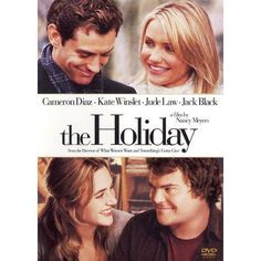 The Holiday a great Christmas movie.  I love Kate's story line more than Cameron's.  This is a movie I can watch year round.