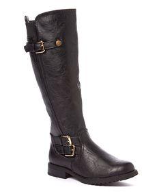 Love this Jacobies Footwear Black Buckle Logan Boot by Jacobies Footwear on #zulily! #zulilyfinds