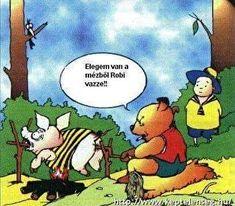 Humoros képek Stand Up, Winnie The Pooh, Disney Characters, Fictional Characters, Jokes, Lol, Cartoon, Comics, Funny