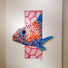 Eleanor Pigman: Seed Bead Embroidered Red Grouper