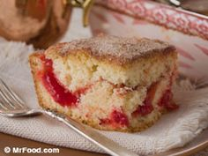 Amish fruit-filled coffee cake