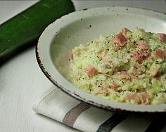 Ratzfatz-Risotto #Risotto #healthy #zucchini #courgette #parmesan #italian #soulfood #schnellgekocht #prosciuttocotto