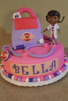 doc mcstuffins cake | Doc McStuffins Cake! - by Betsy's Home Baking @ CakesDecor.com - cake ...