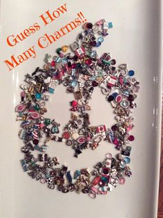 Can you guess how many charms are used to create this ...