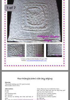 Double Knitting, Chanel Boy Bag, Baby Dolls, Shawl, Triangle, Shoulder Bag, Bags, Dolls