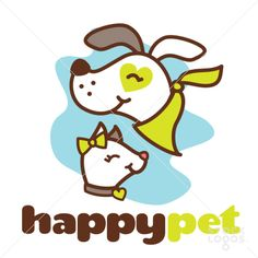 happy pet vets | StockLogos.com