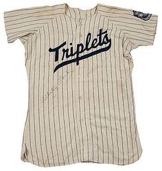 1949 Whitey Ford Signed Binghampton Yankees Minor League Game Used Jersey - JSA Certified - MLB Game Used Jerseys >>> Learn more by visiting the image link.