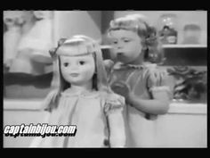 Patti Playpal Doll commercial from 1961 - several of the gals I babysat had these - they were huge dolls!