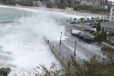 Temporal de olas -Santander - Cantabria
