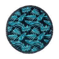 Strandhandduk, Ø150 cm, marinblå