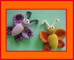 Butterflies crochet from one of my favorite designers - Inspiration