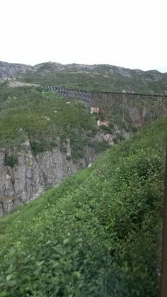 7•15•16 《Old bridge on the train ride》