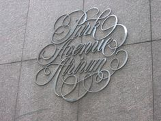 Typeverything.com - Park Avenue Atrium. (Via Mr.... - Typeverything