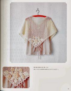 Maravilhas do Crochê: Xales e Shawl em Crochê vários modelos