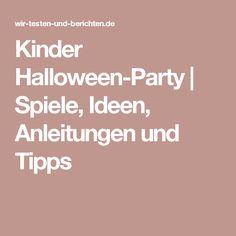 Kinder Halloween-Party   Spiele, Ideen, Anleitungen und Tipps