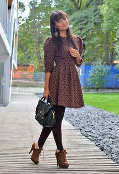 18 Street Style Outfit Ideas with Ankle Boots