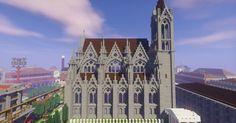 Gothic Church 5 Minecraft Project