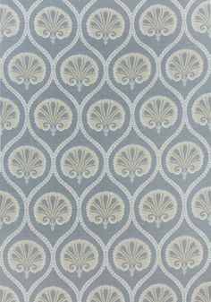 KIMBERLY, Grey, F985018, Collection Greenwood from Thibaut