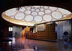 1951 ... Johnson Wax Headquarters: Frank Lloyd Wright
