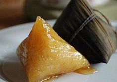 「鹼」去負擔!自製西谷米水晶粽  為糊化糯米、增加口感,傳統鹼粽在製作上多會採取糯米加鹼粉再裹以粽葉的方式製成。(圖片/邱怡芳營養師提供)