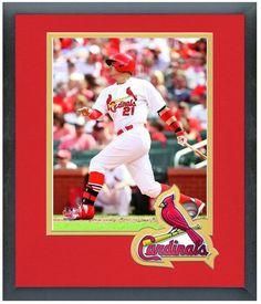 Allen Craig 2014 St. Louis Cardinals - 11 x 14 Team Logo Matted/Framed Photo