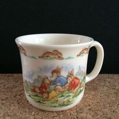 Adorable vintage #Bunnykins mug! Am I the only one who still gives these as baby shower and 1st birthday gifts?