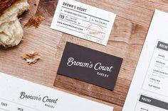 Brown's Court Bakery branding by Studio Nudge