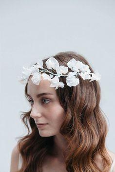 Üppiger #Blumenkranz für das Haar