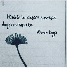 Ahmet Kaya şarkısından bir söz - HEP SONRADAN - Şarkısı