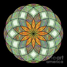 Digital Art Photography, Image Photography, Framed Prints, Canvas Prints, Art Prints, Kaleidoscopes, Zen Art, Circle Shape, Flower Mandala