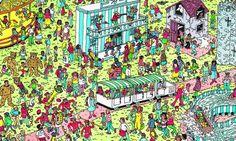 Algoritmo descobre qual é o jeito mais rápido de encontrar o Wally