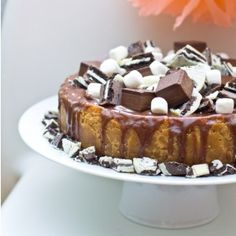 Crazy Candy Cheesecake