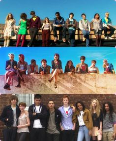 Skins Generations 1-3 haven't seen 3yet but I hope their cool
