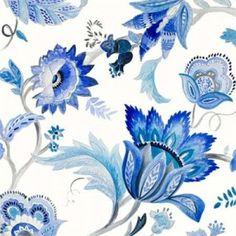 Capri Floral I Canvas Art - Lanie Loreth (24 x 24)