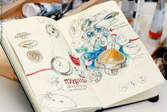 Sketchbook #journal #illustration #sketchbook