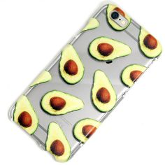 Hey, I found this really awesome Etsy listing at https://www.etsy.com/listing/246708741/avocado-guac-guacamole-clear-case