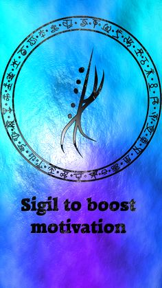 Sigil to boost motivation Sigil requests are closed. Wiccan Symbols, Magic Symbols, Spiritual Symbols, Magick Spells, Wicca Witchcraft, Tarot, Wiccan Spell Book, Practical Magic, Book Of Shadows