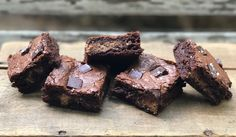 an allergy-friendly & organic living blog. recipe & menu development consultation services. : Sweet & Salty Dark Chocolate Brownies (aka Your Ne...