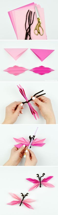 DIY Paper Butterflie