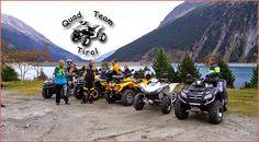 Quadclub: Quad Team Tirol Mitte 2014 ist das Quad Team Tirol ins Leben gerufen worden. Im Vordergrund stehen bei den Quad-Freunden von Bichl bis Aschau Spaß und gemeinsame Ausfahrten http://www.atv-quad-magazin.com/aktuell/quadclub-quad-team-tirol/