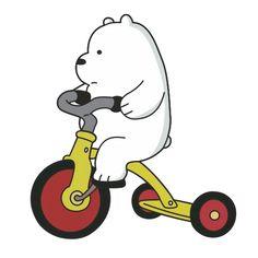 Набор стикеров для Telegram «Белый медведь» We Bare Bears, We Bear, Cute Stickers, Snoopy, Wallpaper Quotes, Cartoon Network, Best Friends, Doodles, Stitch