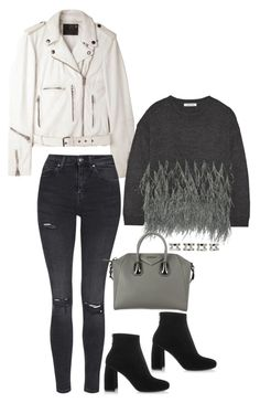 """""""Untitled #1509"""" by samikayy76 ❤ liked on Polyvore featuring R13, Elizabeth and James, STELLA McCARTNEY, Topshop, Givenchy and Maison Margiela"""